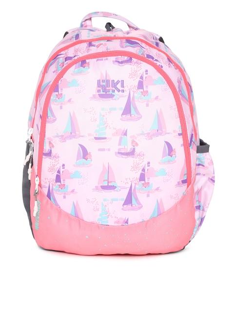 Wildcraft Unisex Pink Wiki J 2 Sailor Graphic Backpack