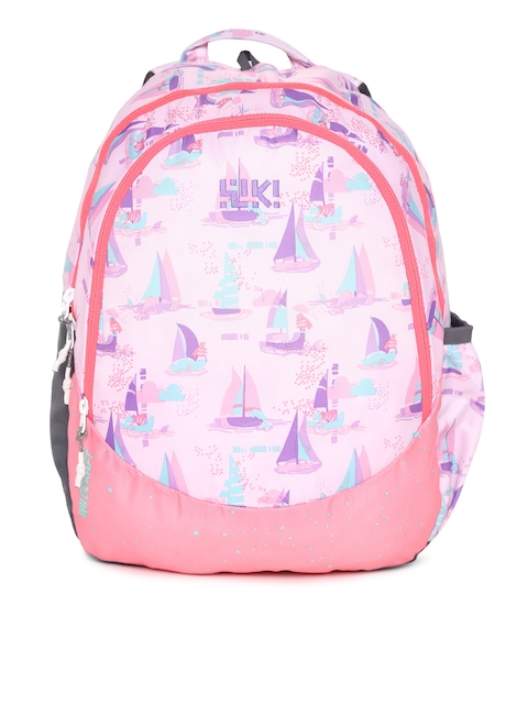 Wildcraft Unisex Pink Wiki J 1 Sailor Graphic Backpack