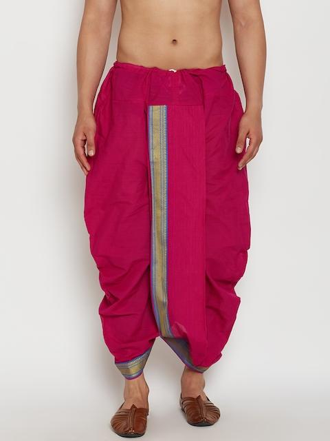 SOJANYA Pink Dhoti Pants