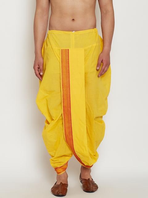 SOJANYA Yellow Dhoti Pants