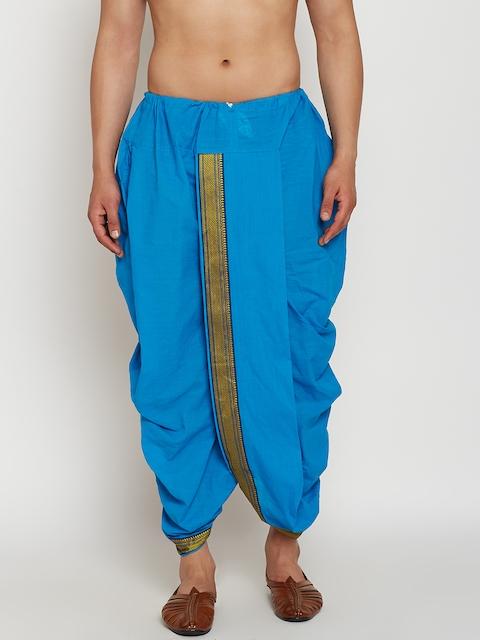 SOJANYA Blue Dhoti Pants