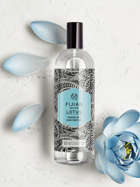 THE BODY SHOP Fijian Water Lotus Fragrance Body Mist