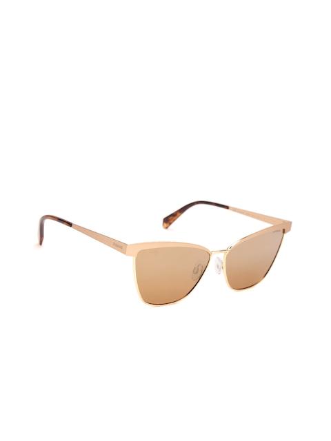 Polaroid Women Mirrored Polarised Cat Eye Sunglasses 4054/S AOZ 60QD