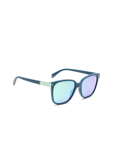 Polaroid Unisex Mirrored Square Sunglasses 6036/S 1ED 535Z