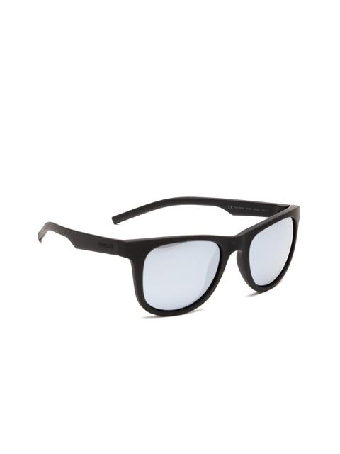 Polaroid Unisex Mirrored Oval Sunglasses 7020/S 807 52EX