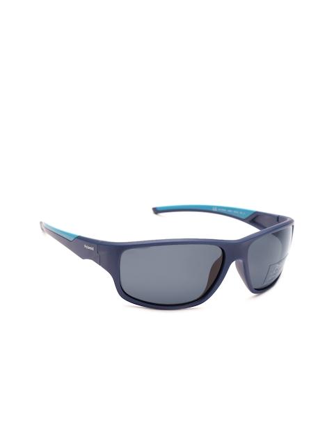 Polaroid Men Polarised Rectangle Sunglasses 7010/S ZX9 64C3