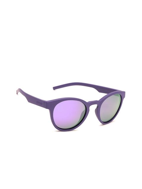 Polaroid Women Oval Mirrored Sunglasses PLD 7021/S B3V 49MF