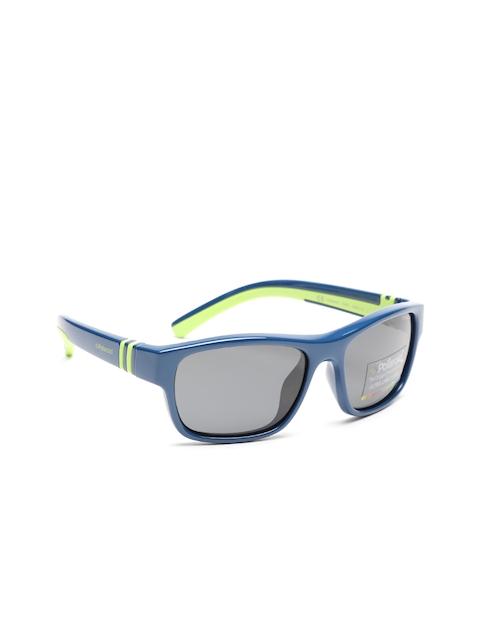 Polaroid Unisex Rectangle Sunglasses 8003/S PUV 52Y2
