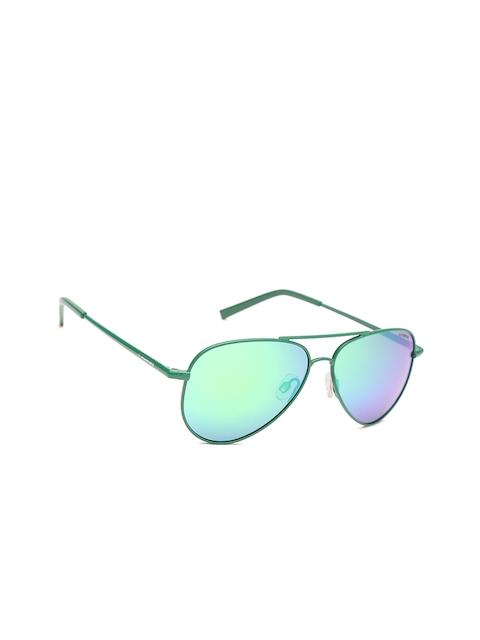 Polaroid Kids Polarised Mirrored Aviator Sunglasses 8015/N 1ZU 52K7