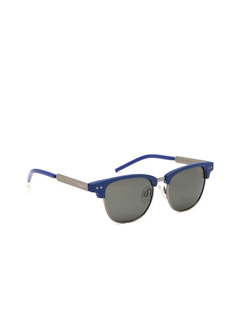 Polaroid Unisex Polarised Browline Sunglasses 8023/S RCT 47M9