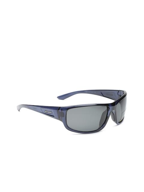Polaroid Men Polarised Rectangle Sunglasses 8414 ALB 68Y2