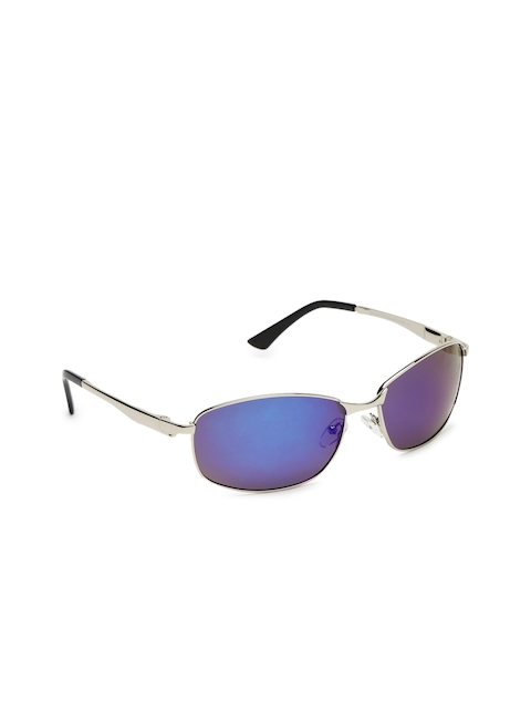 Roadster Men Mirrored Rectangle Sunglasses MFB-PN-PS-B0016