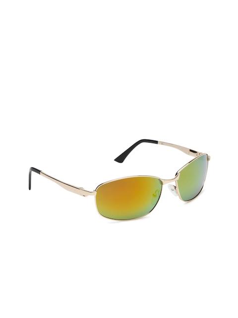 1cea36c389d5ad 70%off Roadster Men Mirrored Rectangle Sunglasses MFB-PN-PS-B0016