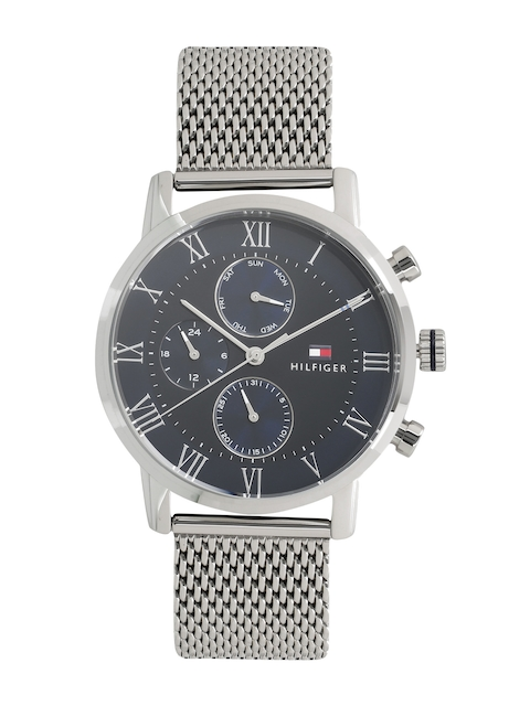 Tommy Hilfiger Men Black Analogue Watch TH1791398