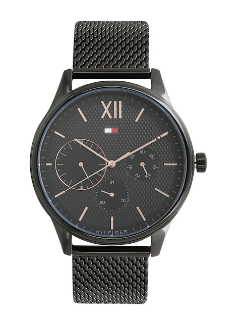 Tommy Hilfiger Men Black Analogue Watch TH1791420
