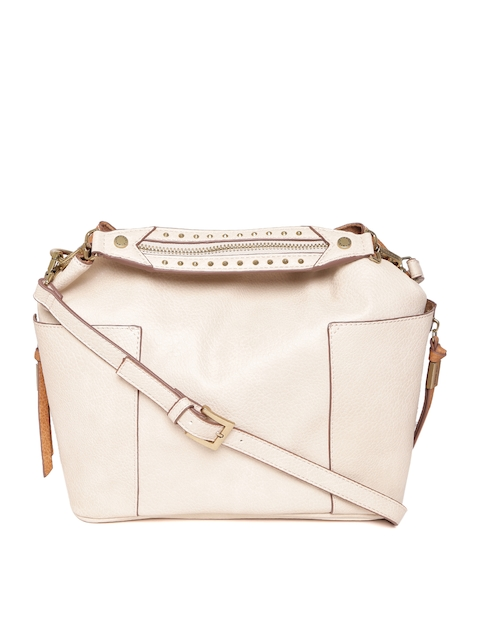 cdeff869157 45%off Steve Madden Cream-Coloured   Tan Solid Handheld Bag