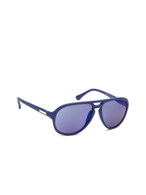 Calvin Klein Men Aviator Sunglasses Ck 3159 243 57