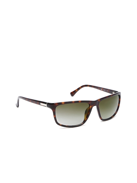 Calvin Klein Men Rectangle Sunglasses Ck 3161 005 58