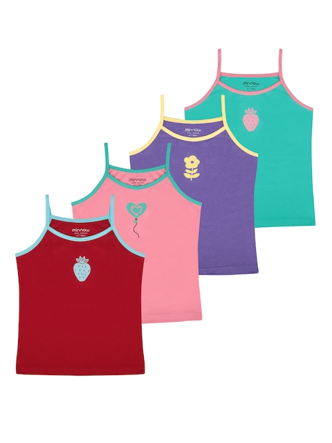 minnow Girls Pack of 4 Camisoles