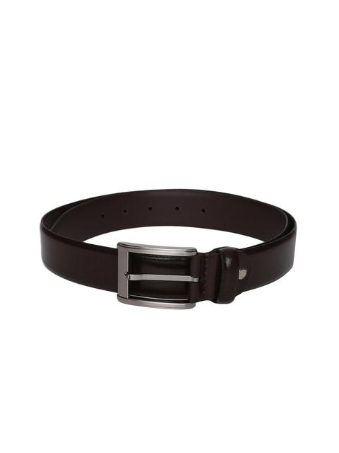 Louis Philippe Men Brown Leather Belt