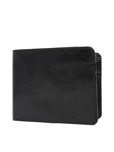 CHISEL Men Black Solid Two Fold Wallet