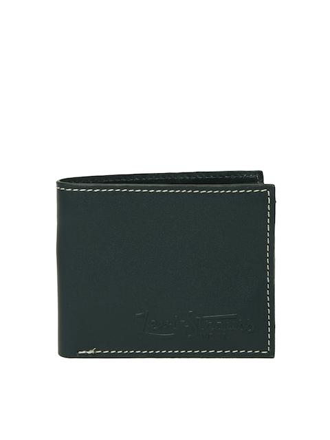 Levis Men Navy Blue Solid Two Fold Wallet