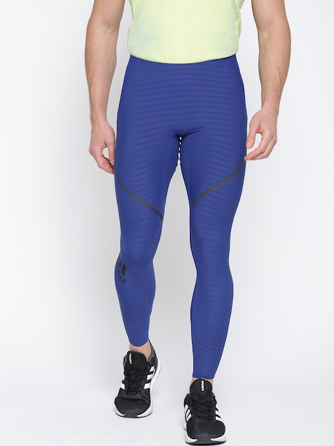 Adidas Blue ASK 360 TIG LT Tights