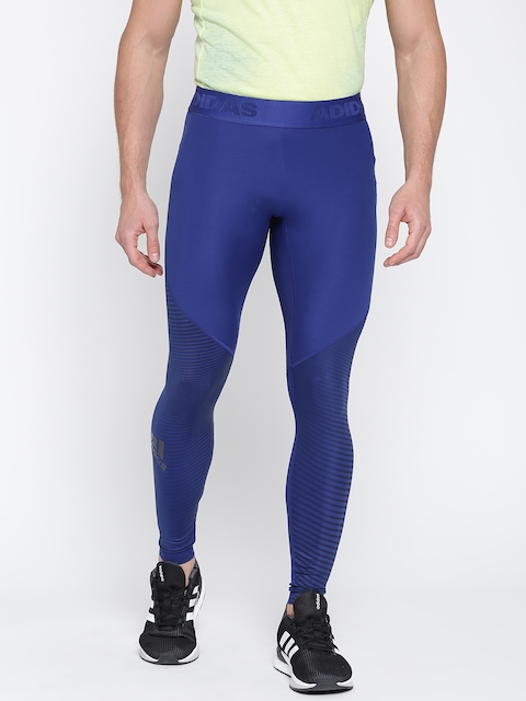 Adidas Blue ASK SPR TIGLT P Tights