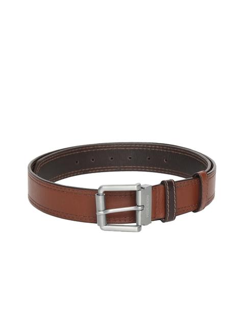 Hidesign Men Brown Leather Belt