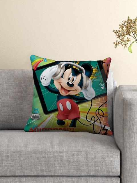 Disney Multicoloured Polyfibre 16 x 16 Square Cushion
