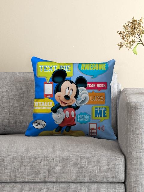 Disney Blue Polyfibre 16 x 16 Square Cushion