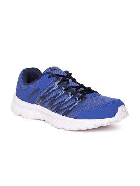 Lotto Men Blue Adriano Track Running Shoes