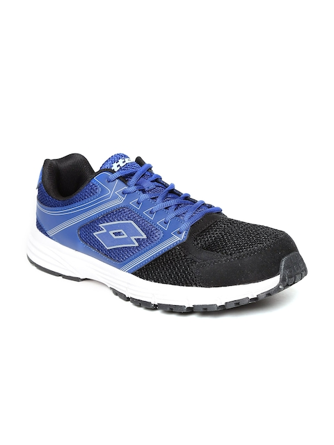 Lotto Men Blue & Black Fausto Track Running Shoes