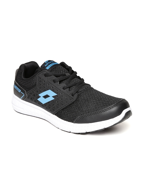 Lotto Men Black Fustal Track Running Shoes