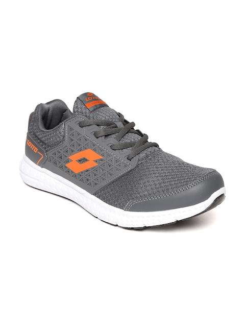 Lotto Men Grey Fustal Track Running Shoes