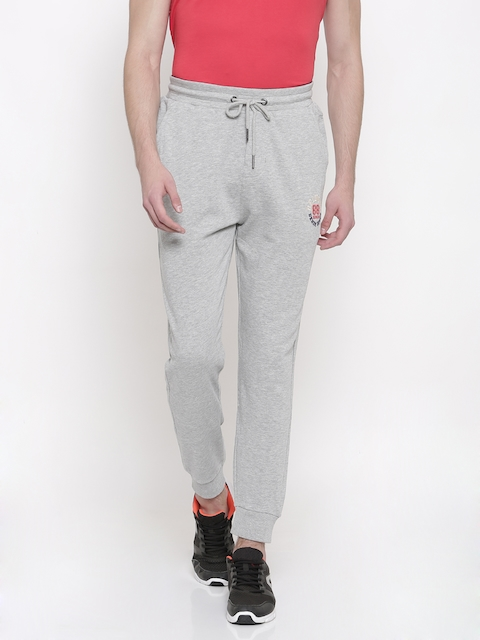 Being Human Grey Melange Track Pants
