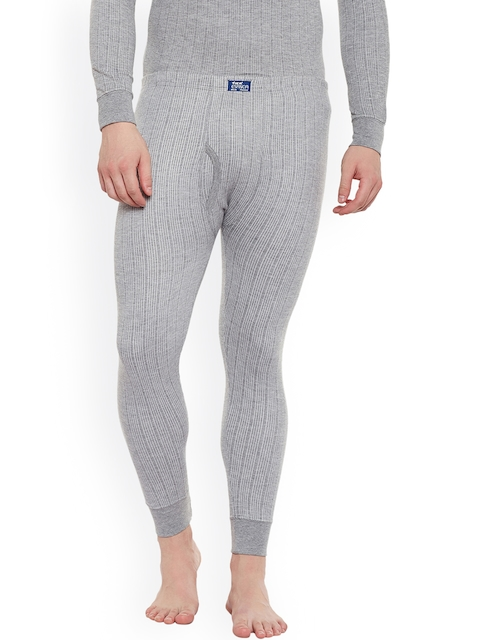 NEVA Men Grey Melange Thermal bottoms