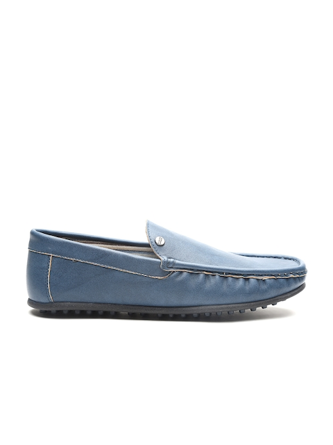 Carlton London Men Blue Loafers