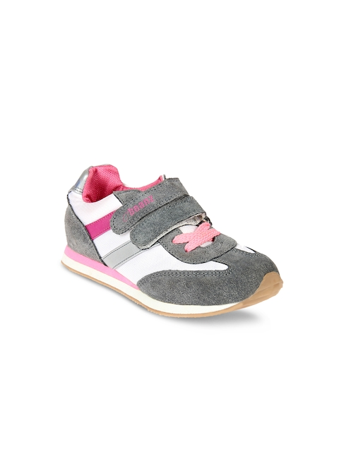 Beanz Girls Grey Trekking Shoes