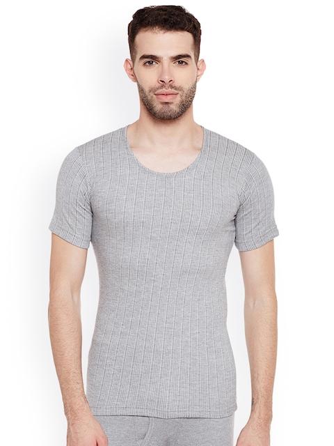 NEVA Men Grey Thermal Top