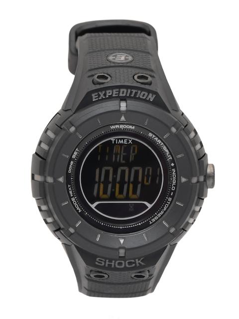 Timex Men Charcoal Grey Digital Watch T49928