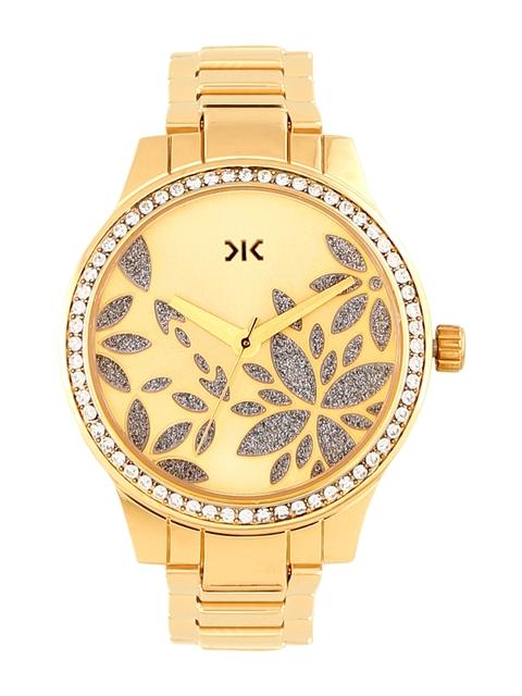 Killer Women Gold-Toned Analogue Watch KLW505G