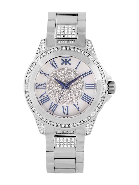 Killer Women Silver-Toned Analogue Watch KLWI526D