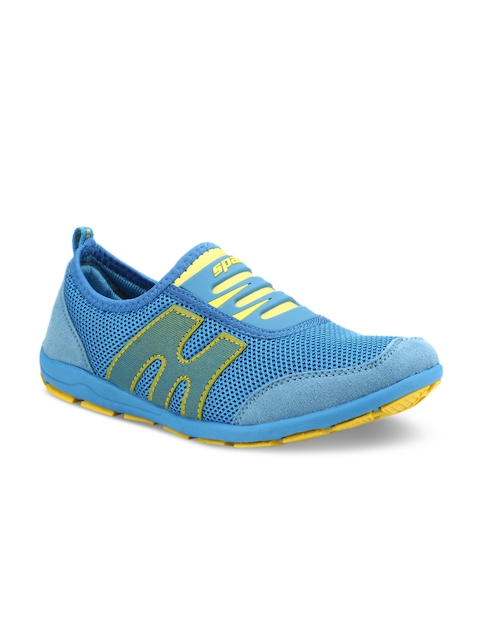 Sparx Women Blue And Yellow Running Shoes