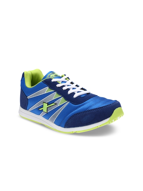 Sparx Women Blue And Green Running Shoes