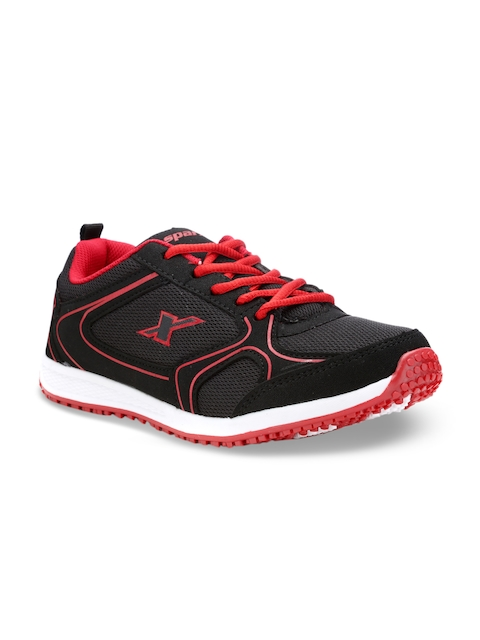 Sparx Women Black And Red Running Shoes