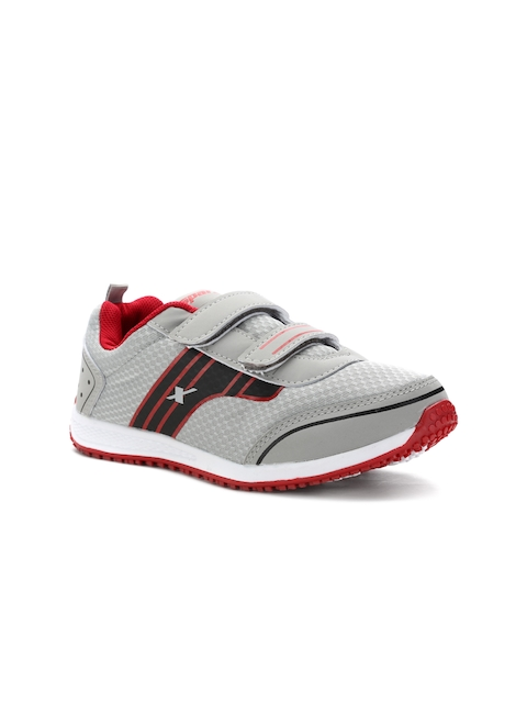 Sparx Women Grey And Red Running Shoes