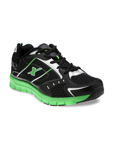 Sparx Men Black Running Shoes