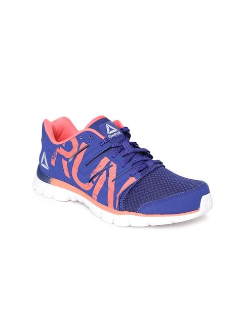 Reebok Women Blue Ultra Speed 2.0 Printed Running Shoes