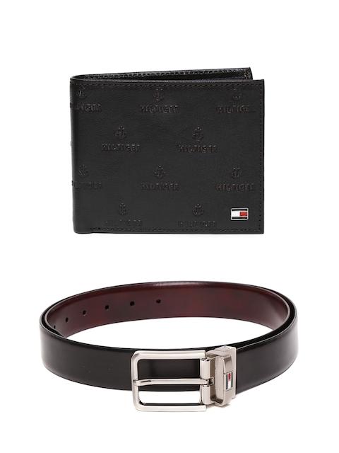 Tommy Hilfiger Men Leather Wallet & Reversible Belt
